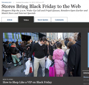 White Glove Client Service Lessons Born Out of Black Friday Strategies
